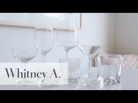 Adulting!: Glassware Essentials For Wine + Cocktails | Whitney A.