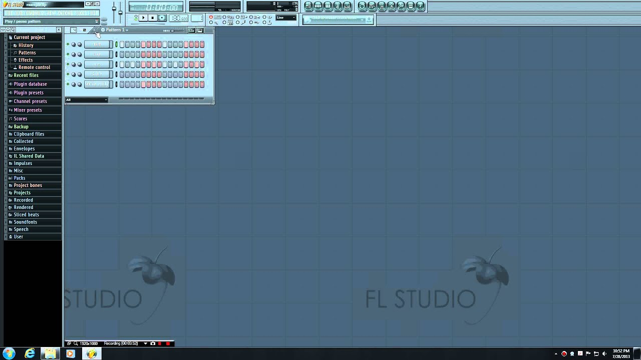 how to open step sequencer fl studio