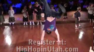 Kids Hip Hop and Bboy Class @ DF Studio in SLC!
