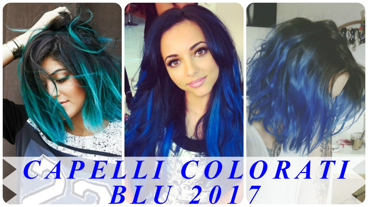 Acconciature capelli lunghi colorati