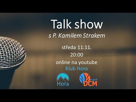 Talk show s P. Kamilem Strakem