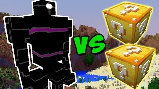JEFFREY VS. LUCKY BLOCK (MINECRAFT LUCKY BLOCK CHALLENGE)