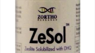 Zesol with DHQ™ Micronized Zeolite Detoxifying Dietary Supplement by Zortho Research