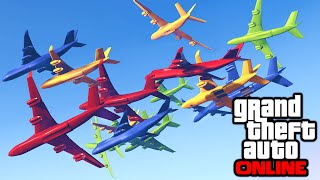 GTA 5: Online - Funny Moments & Custom Game Modes (30-Player Open Lobby Recap Video)