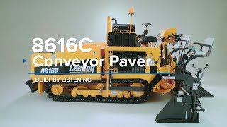 Video still for LeeBoy 8616 Asphalt Paver Overview