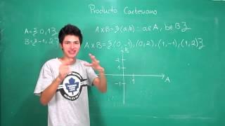 Ejemplo 1 de producto cartesiano y como graficarlo