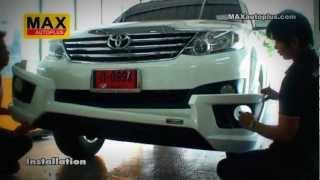 Repeat youtube video Toyota Fortuner 2012 with Body Kit ZERCON