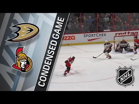 Anaheim Ducks vs Ottawa Senators – Feb. 01, 2018 | Game Highlights | NHL 2017/18. Обзор матча