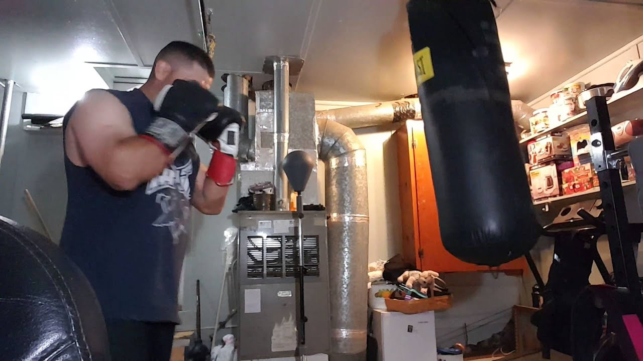 Home boxing gym youtube