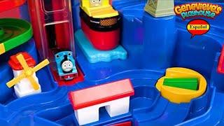 ¡Aprenda Colores y Números para Niños con Thomas and Friends Train Playset y Puzzle para Niños!