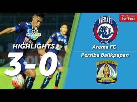 Arema FC vs Persiba Balikpapan 3-0 All Goals & Highlights