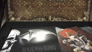 Avenged Sevenfold Hail to the King Limited Edition Unboxing