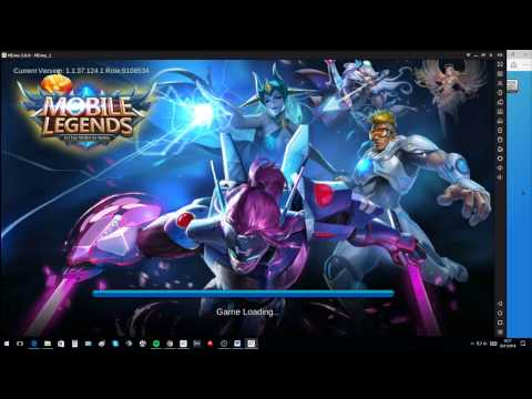 (English) How To Play Mobile Legends On PC Using Memu.
