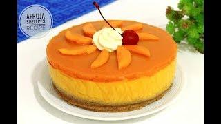 Mango Mousse Cake  Eggless Mango Mousse Cake  No Bake Mango Mousse Cake  How to make Mousse Cake