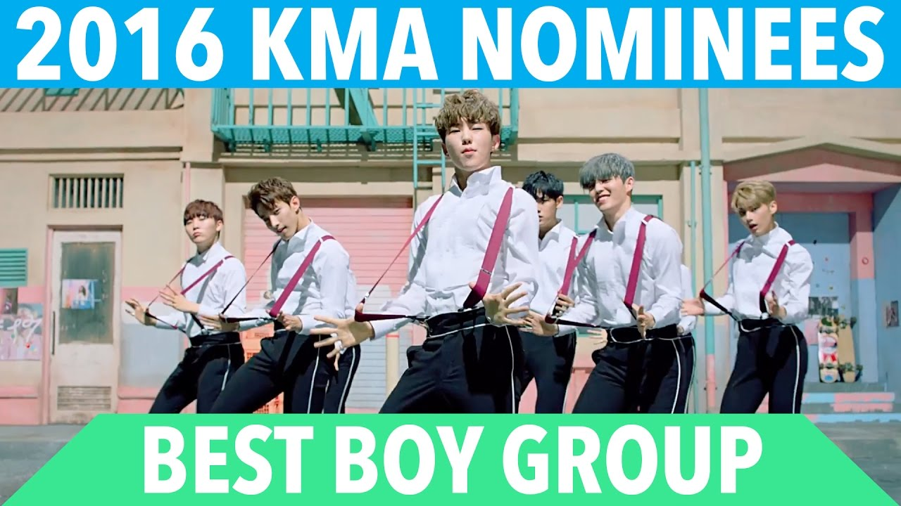 2016 K-VILLE MUSIC AWARDS (KMA'S) - BOY GROUP OF THE YEAR NOMINEES