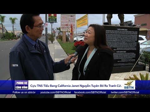 PHÓNG SỰ CỘNG ĐỒNG: Cựu TNS Janet Nguyễn tuyên bố ra tranh cử