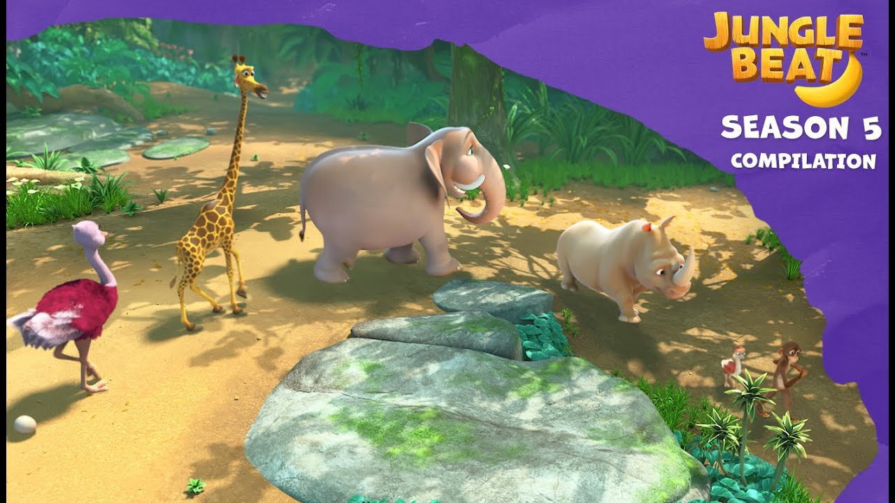 Compilation   Jungle Beat: Munki and Trunk   Kids Animation 2021