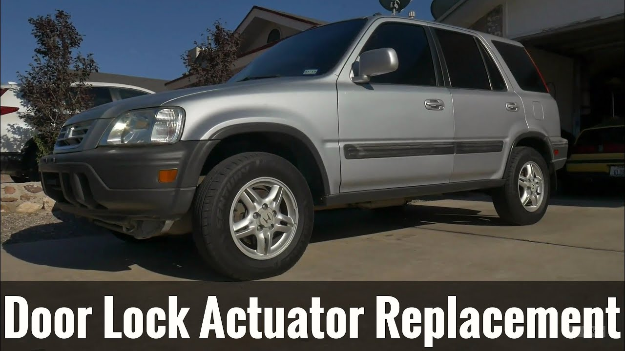 how to replace door lock actuator (97-01 honda crv)