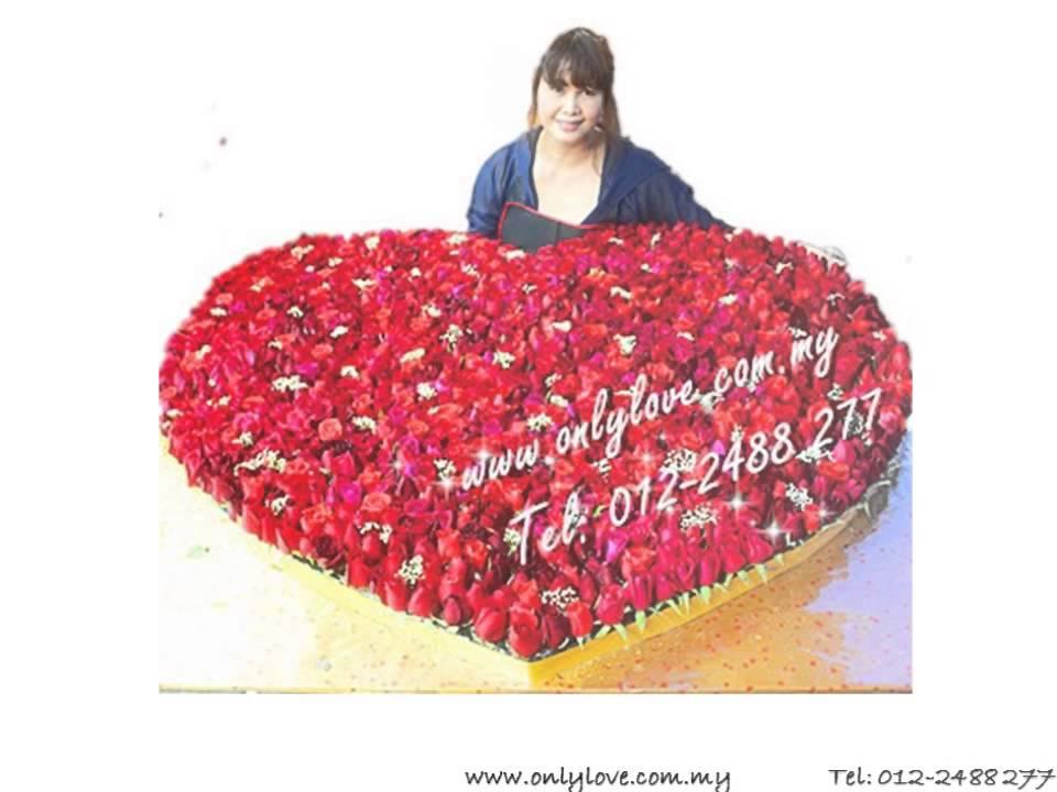 999 Stalks Roses For Valentine S Day Gift Only Love Florist