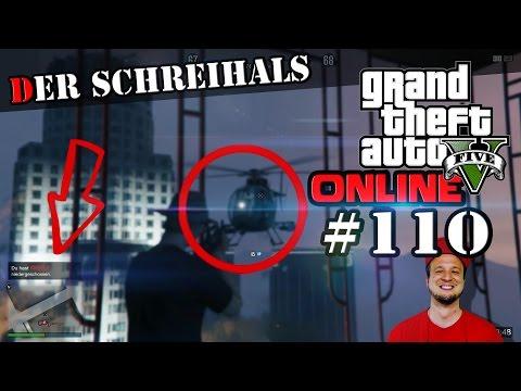 GTA ONLINE - LTS DER SCHREIHALS (GTA 5 Lets Play #110)
