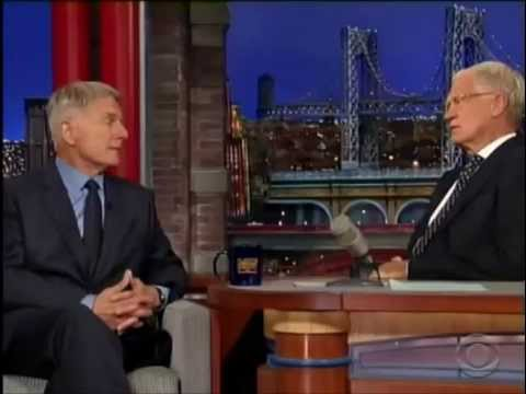 Mark Harmon:  Late Show with David Letterman - September 2014