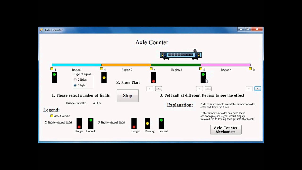 Demo Axle Counter Youtube