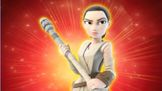Disney Infinity 3.0 All Rey Skills & Abilities Free Roam Gameplay / Showcase