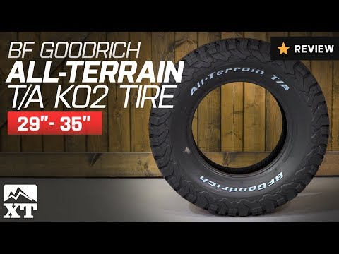 "Jeep Wrangler BF Goodrich All-Terrain T/A KO2 Tire (29""-35"") Review"
