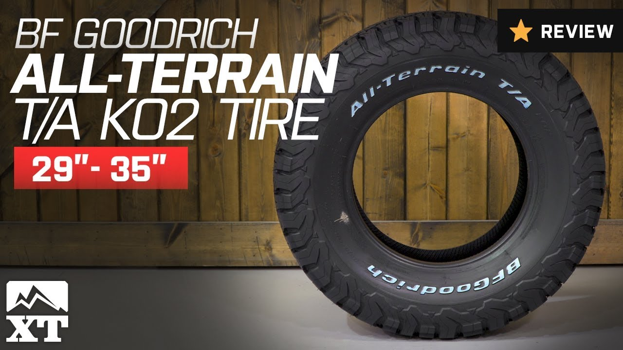 """14 Inch Tires >> Jeep Wrangler BF Goodrich All-Terrain T/A KO2 Tire (29""""-35"""") Review - YouTube"""