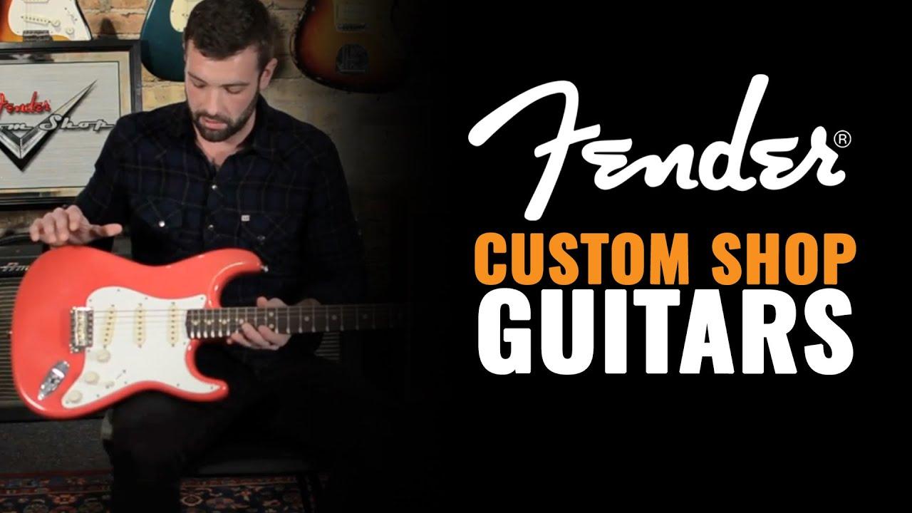 Fender Custom Shop Stratocasters   CME Gear Demo