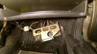 замена радиатора отопителя ваз 2109 без снятия панели. ремонт автомобиля