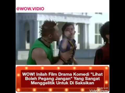 WOW! Inilah film drama komedi LIHAT BOLEH PEGANG JANGAN yang sangat mengelitik