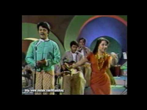 #023 Win Oo and Aye Aye Myint on Myanmar TV (Mya Nan Dar-Thingyan Song)