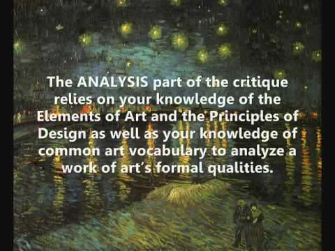 The Importance of Art Criticism