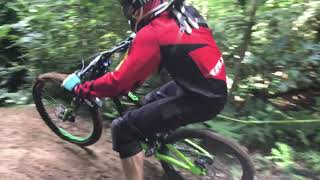 NZDH Downhill AKDH Dome Valley 2018 slip and slide