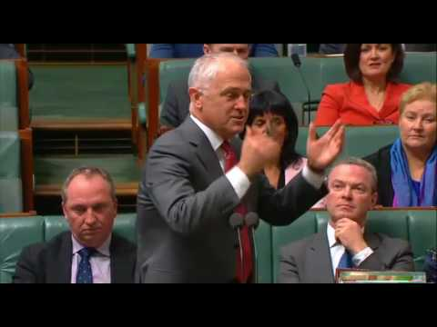 Bill Shorten asks Malcolm Turnbull how there can be a respectful debate on marriage equality?