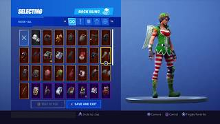 New Fortnite Tinseltoes Elf Skin