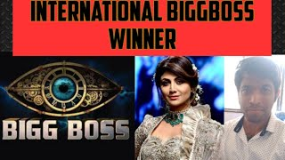 Shilpa Shetty ....winner of International biggboss😊