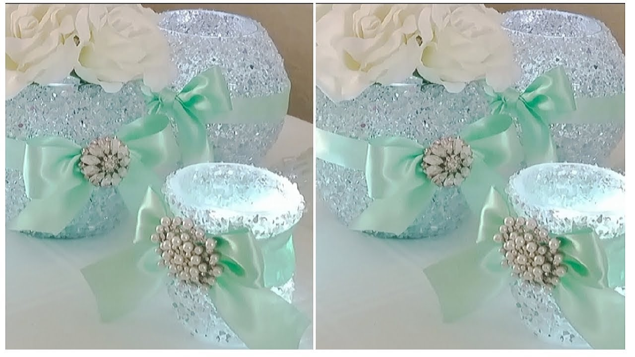 INEXPENSIVE BLING AND GLAM LUXURY BABY SHOWER DIY | INEXPENSIVE DIY TIFFANY  INSPIRED