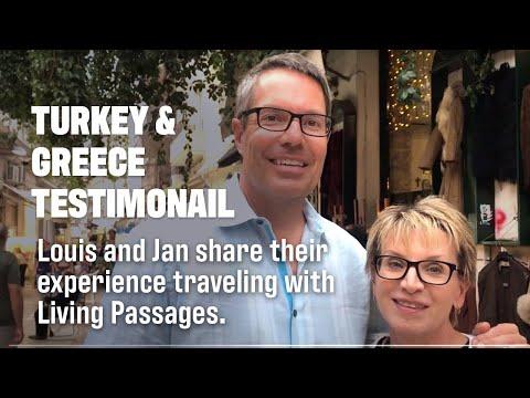 Turkey \u0026 Greece Testimonial: Louis \u0026 Jan | Living Passages Christian Travel