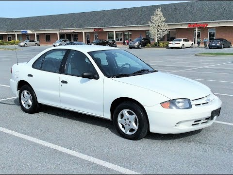 2003 Chevy Cavalier Review, Start Up and Full Tour