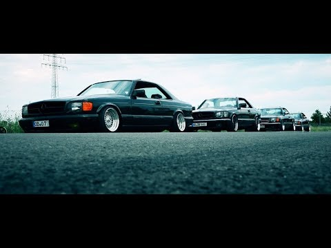 SLAM | Mercedes 560 SEC & W126 SOUND and DRIVE BY compilation