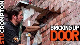 Bricking Up a Door, Bricklaying