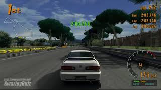 Gran Turismo 3 A-Spec PS2 | Rome Circuit II | Honda INTEGRA TYPE R '98