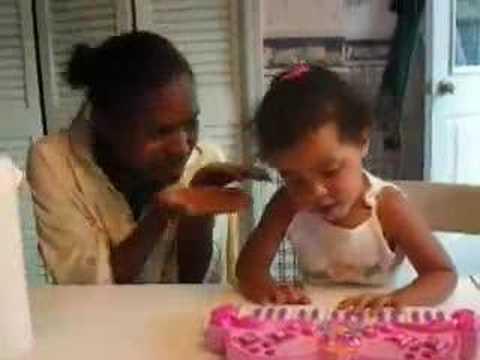 Sara Sings Happy Birthday