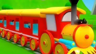 Gadi Aayi Gadi Aayi Chuk Chuk Rhyme   गाड़ी आयी जुक जुक   Hindi Nursery Rhymes   Train Song