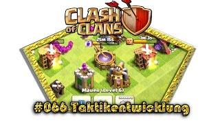 Let's play Clash Of Clans #066 - Taktikentwicklung [Deutsch / German][LP iOS IPhone]