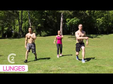 circuit training full body pour femmes youtube. Black Bedroom Furniture Sets. Home Design Ideas