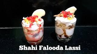 Delicious Recipes # 11 | Shahi Falooda Lassi | Exquisite Falooda Lassi Fusion Recipe