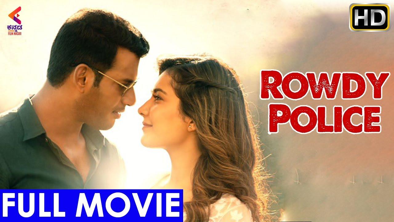 ROWDY POLICE Kannada Full Movie | Vishal | Raashi Khanna | Sandalwood Dubbed Movies | Kannada Film